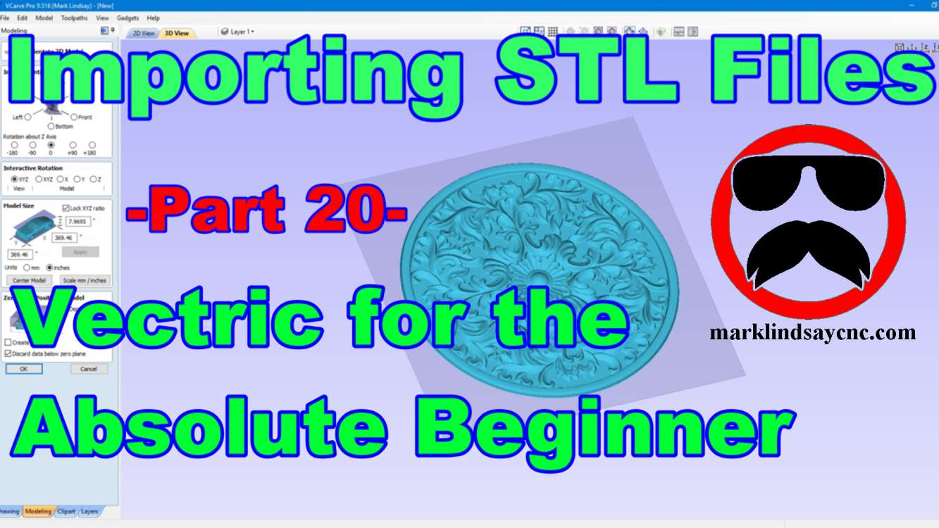 Vectric Software for the Absolute Beginner – Part 20