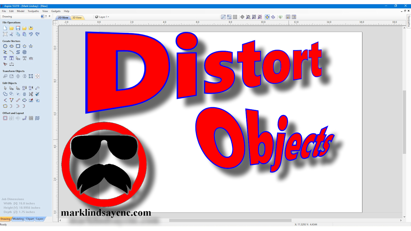 Vectric Software for the Absolute Beginner – Part 38