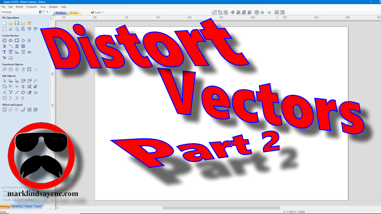 Vectric Software for the Absolute Beginner – Part 39